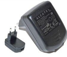 ORIGINAL ALCATEL CBA3008AA0C2 2 PIN EU TRAVEL CHARGER PLUG Output 5V 0.550mA