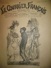 DESSINS LEANDRE BALLURIAU RENOUARD FONTANEZ N° 20 LE COURRIER FRANCAIS 1910