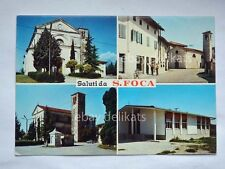 Saluti da SAN FOCA Pordenone vedutine vecchia cartolina
