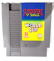 Super Spike V'Ball/World Cup Soccer ORIGINAL NINTENDO NES GAME Tested ++ WORKING