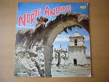 EL NORTE ANDINO ILS 1973 LP NM CHILE WORLD MUSIC SOUTH AMERICA INDIO OSWALDO