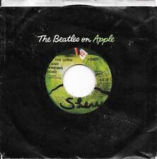 error * BEATLES * 45 * The Long And Winding Road * 1970 APPLE ORIGINAL G VINYL