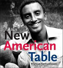 MARCUS SAMUELSSON - New American Table - HARDCOVER ** Brand New **