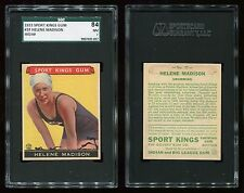 1933 Sport Kings #37 Helene Madison SGC 84 NM Cert #9007405-037