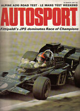 Autosport March 23rd 1972 *Race of Champions & Alpine A310 Road Test*