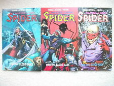 THE SPIDER: MASTER OF MEN 3 BOOK SET (ECLIPSE BOOKS, 1991), NM