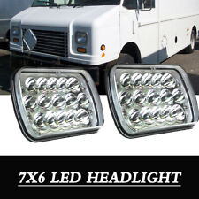 LED PROJECTOR Headlights For Freightliner MT-35 MT-45 MT-55 STEPVAN Pack of 2