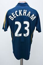 LA GALAXY LOS ANGELES 2007/2008 AWAY FOOTBALL SHIRT ADIDAS #23 BECKHAM SIZE S