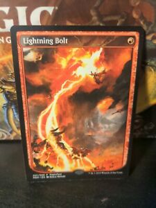 Lightning Bolt - Full Art - NM - Magic Fest - MTG - Magic: the Gathering