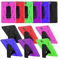 "Heavy Duty Hybrid Rugged Armor Case Cover for Samsung Galaxy Tab A 8.0"" SM-T350"