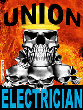 union-electrician-sticker, CE-17