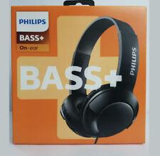 Philips BASS+ On-ear Wired Earphones SHL3070BK/27 Black~BOLD BASS