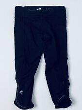 Ivivva Lululemon Girls Size 6 Capri Crops Leggings Gymnastics Yoga Black
