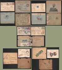 Russia 1915-18 censored covers (x11)