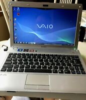 "Sony Vaio VPC Y Series Laptop/11.6""/AMD E-350processor/6GB/256GB/Battery/Charger"