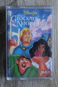 1 MC AC Kassette Hörspiel Der Glöckner von Notre Dame Disney Buch z Hören 1996