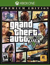 Grand Theft Auto V Premium Online Edition (Xbox One, 2014) BRAND NEW SEALED
