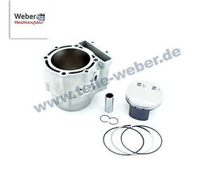 Husqvarna 610 TE TC Dual Zylinder Zylinderkit Wössner Schmiede Kolben Bj.98-04