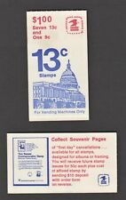 US Booklet - BK131 - US Flag over Capitol Building (3 dots), 1997, MNH