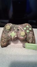 PowerA Pro Wireless Playstation 3 Controller Realtree Camo Green Limited Edition