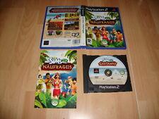 LOS SIMS 2 NAUFRAGOS DE EA GAMES PARA LA SONY PS2 EN CASTELLANO USADO COMPLETO