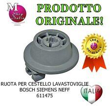 Ruota Cestello Lavastoviglie originale Bosch Siemens Neff 00611475