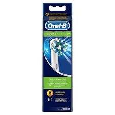 Oral-B Crossaction Electric Toothbrush Replacement Brush Heads 3 Pack