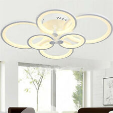6-Light Modern LED Lamps Chandeliers Living Room Bedroom Indoor Ceiling Fixtures