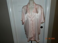 VTG Victorias Secret Gold Label Satin Sleep Night Shirt nightgown S small Pink