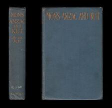 1919 Herbert Mons ANZAC Kut b.e.f Gallipoli Dardanellen Türkei suvla Mesopotamien
