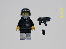 Lego Custom Minifig CITY SWAT POLICE OFFICER