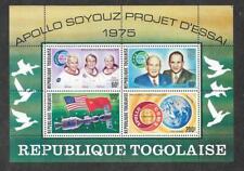 Togo #C258a MNH S/S Apollo-Soyuz/Flags/Slayton/Brand/Leonov/Kubasov