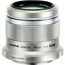 Olympus M.Zuiko 45mm f1.8 MFT Lens - Silver
