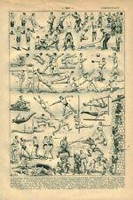 Document ancien gymnastique issu du livre de 1922