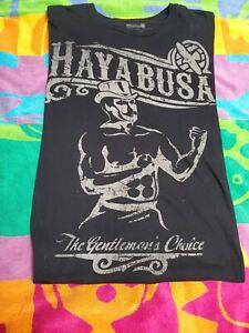 HAYABUSA MMA The Gentleman's Choice Graphic tshirt SZ M