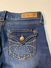 Seven 7 Skinny Blue Jeans Flap Pockets Women's Size 4