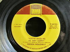 MOTOWN SOUL 45: BRENDA HOLLOWAY You've Made Me So Very Happy/I've Got To Find It