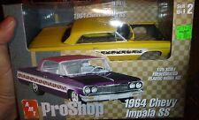AMT 1964 CHEVY IMPALA SS PRO-SHOP 1/25 Model Car Mountain KIT FS