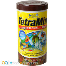 Tetra TetraMin Large Tropical Flakes 5.65oz (160g) Fish Food Clean Water Formula
