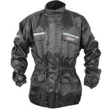 Combinaisons de pluie toutes saisons noirs pour motocyclette Homme