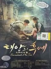 DVD Korean Drama Descendants of the Sun Eps 1-16 + 3 Special ENG SUB All Region