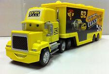 Disney Pixar Cars Mack NO.52 Leak Less Racer's Hauler Truck 1:55 Loose New