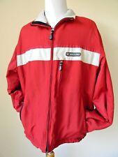 Abercrombie & Fitch Mens Jacket A/92 Windbreaker Lined Winter Ski Coat XL 90s