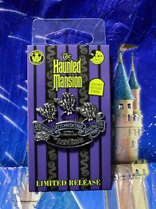 2020 New Disney Parks Haunted Mansion Hitchhiking Ghosts GITD Passholder Pin LR