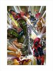 Alex Ross SIGNED Marvels 4 X-Force NYCC 2021 Exclusive Artist Proof Ltd Ed of 25