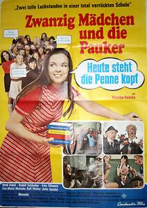 Zwanzig Mädchen + die Pauker, Kinoplakat Poster A1, Constantin, Heidi Kabel 1971