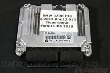 BMW F31 320d X3 F25 Motor Steuergerät DDE Grundsteuergerät 8574094 0281019809