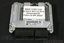 Org BMW f30 320d MOTORE CENTRALINA DDE motivo dispositivo fiscale 8574094 0281019809