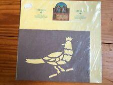 Vintage Bird Stencil Pavilion Uk Designed by Anne Glaskin and Eddie Anderson New