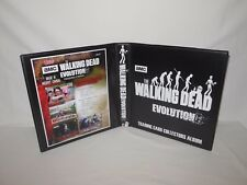 Custom Made The Walking Dead Evolution Trading Card Binder Graphics Only